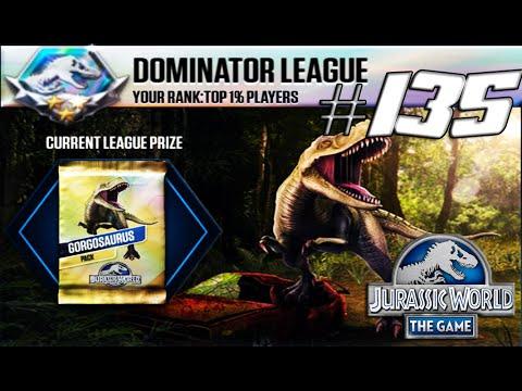 NEW Gorgosaurus Tournament Dominator League - Jurassic World The Game #135