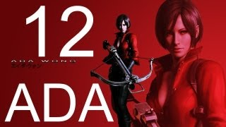 Resident Evil 6 walkthrough - Final Boss ADA Walkthrough HD part 12 ada wong gameplay RE6