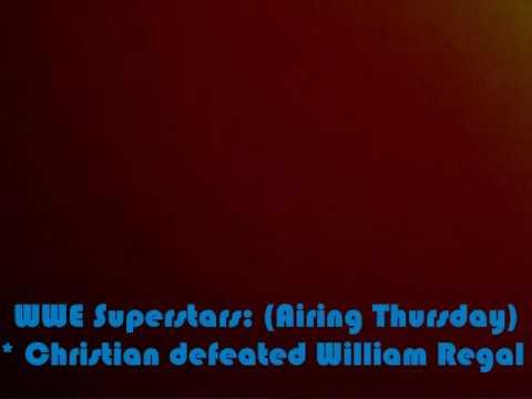 Spiolers For WWE Superstars 7/23/09