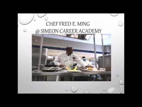 FMLLF Chef'N It Up Bermudian Style with Chef Ming - cooking presentation