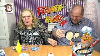 PFANNEN - PANNEN 🍳 Lustiges Spiel um fliegendes Essen mit saurer Bestrafung | Huch!
