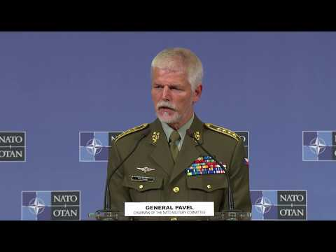 Q&A joint press conference - NATO Chiefs of Defence, 16 MAY 2018