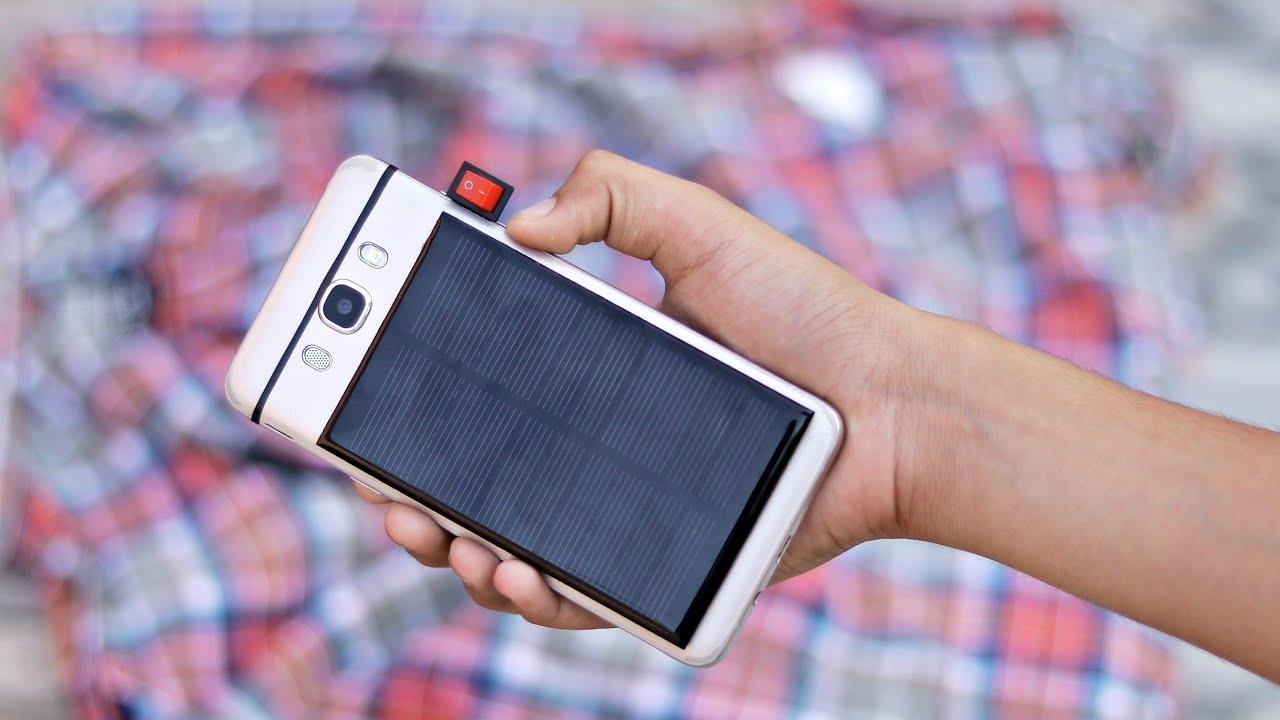 Amazing DIY idea with Solar Panel