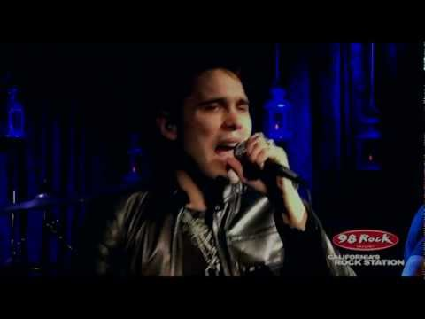 """TRAPT """"Stand Up"""" live at 98 Rock"""