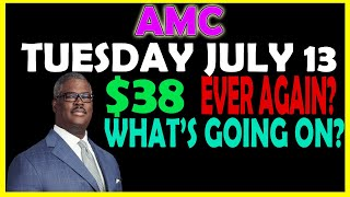 TUESDAY JULY 13 AMC STOCK PRICE | $38 INCOMING? | Short Squeeze Hedgies FUD UPDATE!