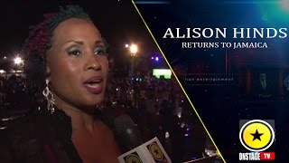 Alison Hinds Returns To Jamaica!