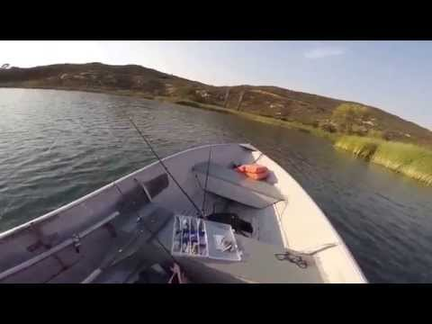 Topwater Bass Fishing Lake Dixon California 2015