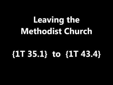 Leaving the Methodist Church