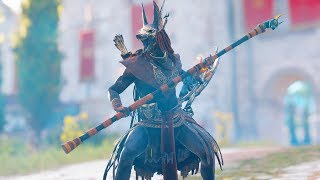 Assassins creed Origins: Stealth Gameplay Kills & High Action kills with Anubis OUTFIT!!