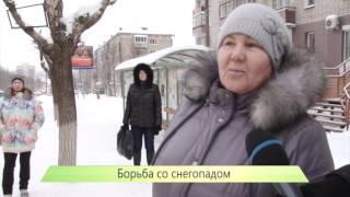 1) Новый начальник ГИБДД на улице ругает дорожников. 13.02.2014. ИК Город