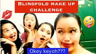 Blindfolded Make-up Challenge | Laughtrip to!