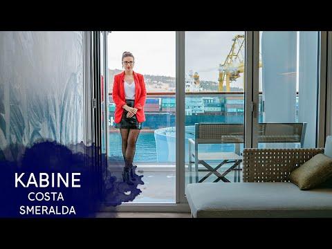 Costa Smeralda - Balkonkabine Mit Terrasse - Costa Kreuzfahrten