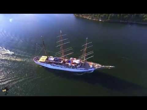 Sea Cloud II Cruise Ship Aerial