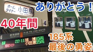 【乗り得快速】藤沢→小田原まで特急型185系で快適移動・感動のラストラン!