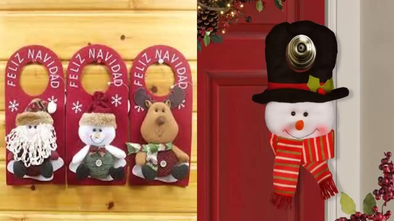 Te lo llevamos te da ideas para decorar las puertas for Adornar puertas para navidad