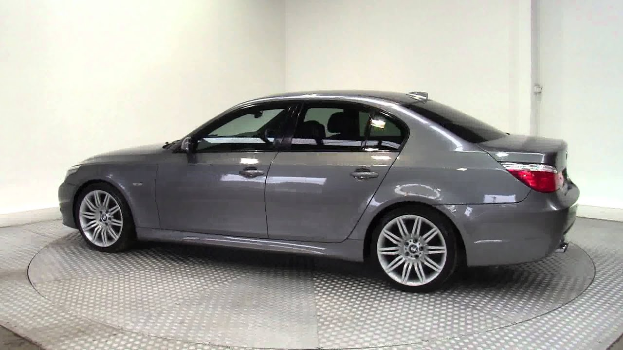2009 bmw 5 series 520d m sport business edition youtube. Black Bedroom Furniture Sets. Home Design Ideas