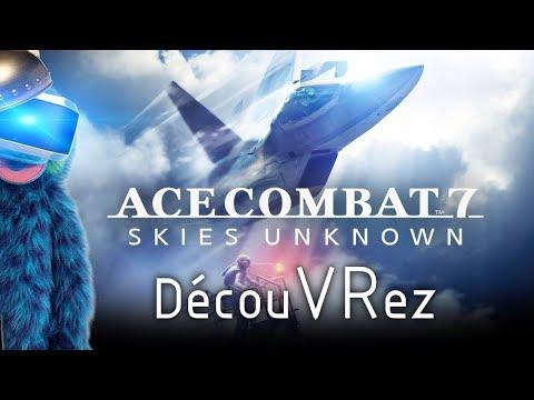 DécouVRez : ACE COMBAT 7   Aperçu des 3 missions VR + Vol Libre (Test PSVR) PS4 Pro   VR Singe