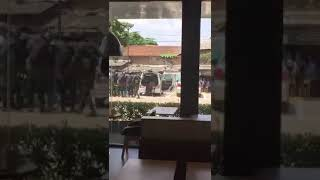 Terrorist caught at rathmalana macdonals # watch before they remove this#