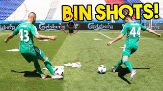 BIN SHOTS ON EURO 2016 SEMI FINAL PITCH!
