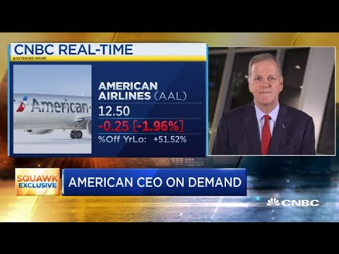 American Airlines CEO: We Need Business Travelers To Return In Order To Bounce Back