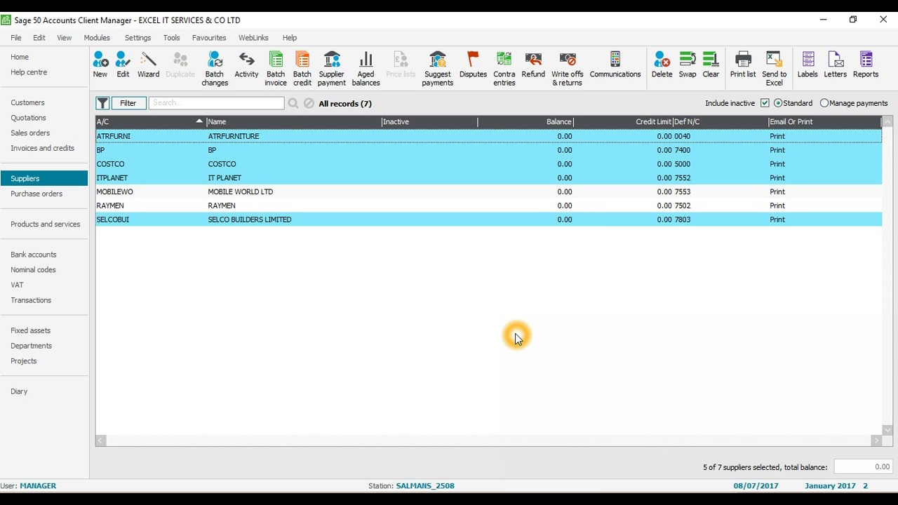 Excel to Sage - Importing Supplier Invoices from Excel to Sage Part1