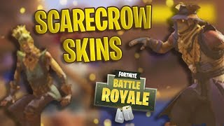 NEW Scarecrow Skins Coming to Fortnite..