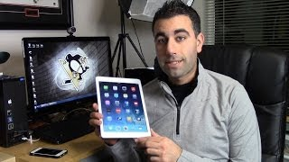 iPad Air  Air 2 - How to Master Using Gestures iOS8