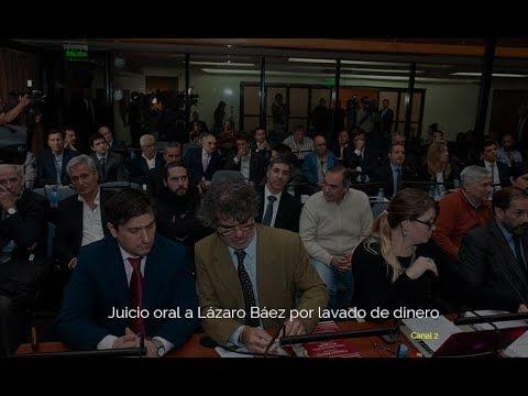 Juicio oral a Lázaro Báez por lavado de dinero