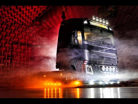 """Volvo Trucks - A heavy metal truck designed by a heavy metal legend – """"Welcome to my cab – light"""""""