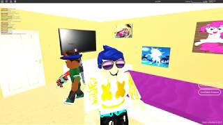 Playing Roblox Greenville!