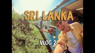 THE GREATEST TRAIN RIDE - SRI LANKA VLOG 2