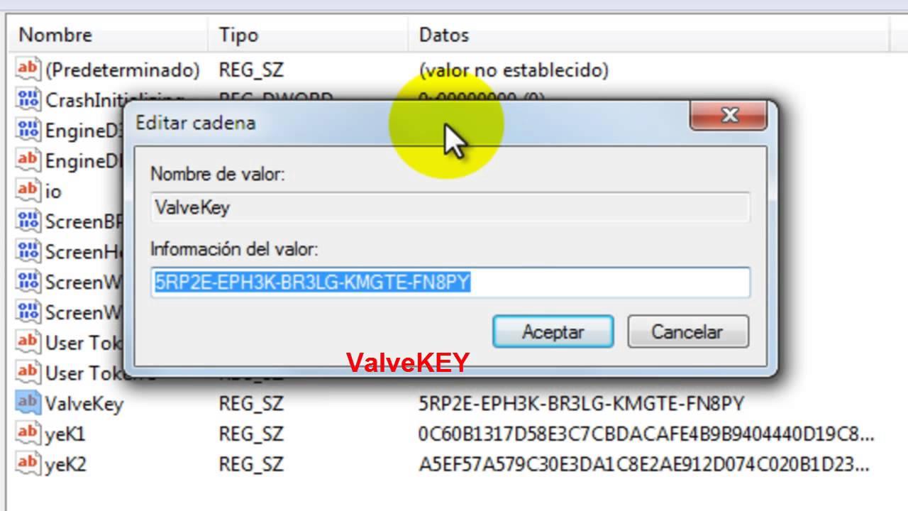 Cambiar Serial de CDKey - Counter Strike 1 6