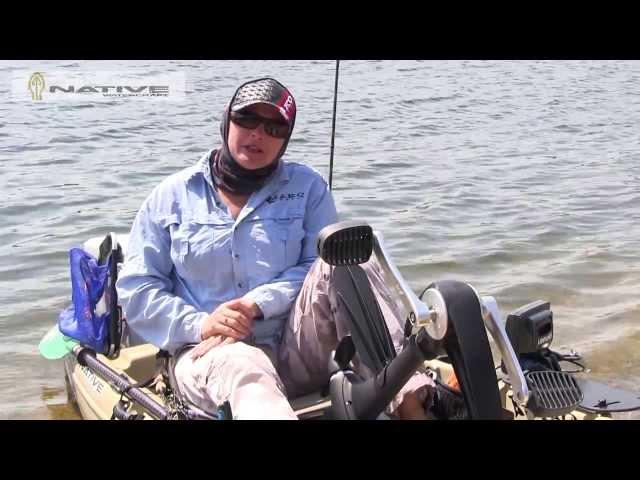 Jo Starling talks Native Watercraft Mariner 12.5 Propel Kayak