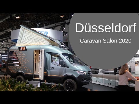 Caravan Salon Düsseldorf 2020 - NEW STUFF! Hybrid Camper Vans! Exciting innovation!