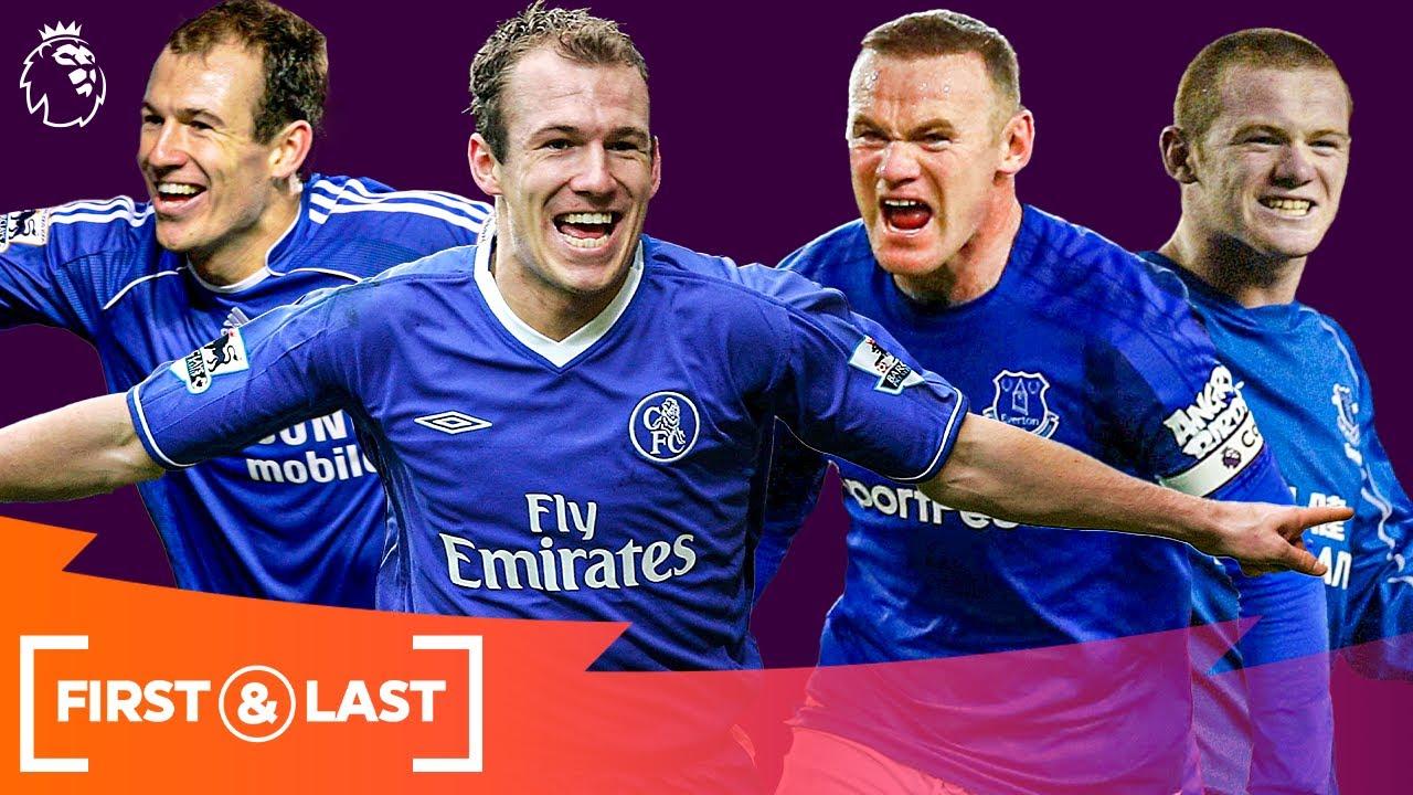 Players Who Retired In 2021 | First & Last Premier League Goals | Arjen Robben & Wayne Rooney
