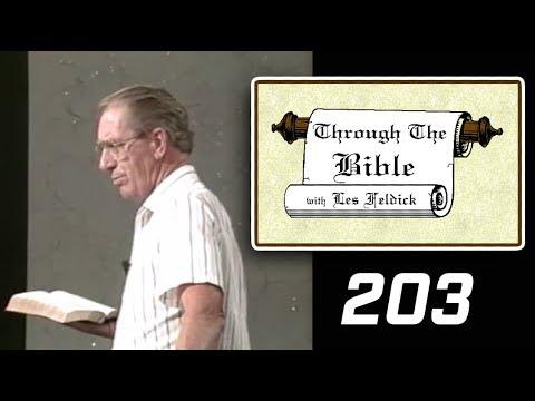 [ 203 ] Les Feldick [ Book 17 - Lesson 3 - Part 3 ] Acts Chapters 3, 4, 5