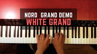 Nord Grand Demo - White Grand - No talking