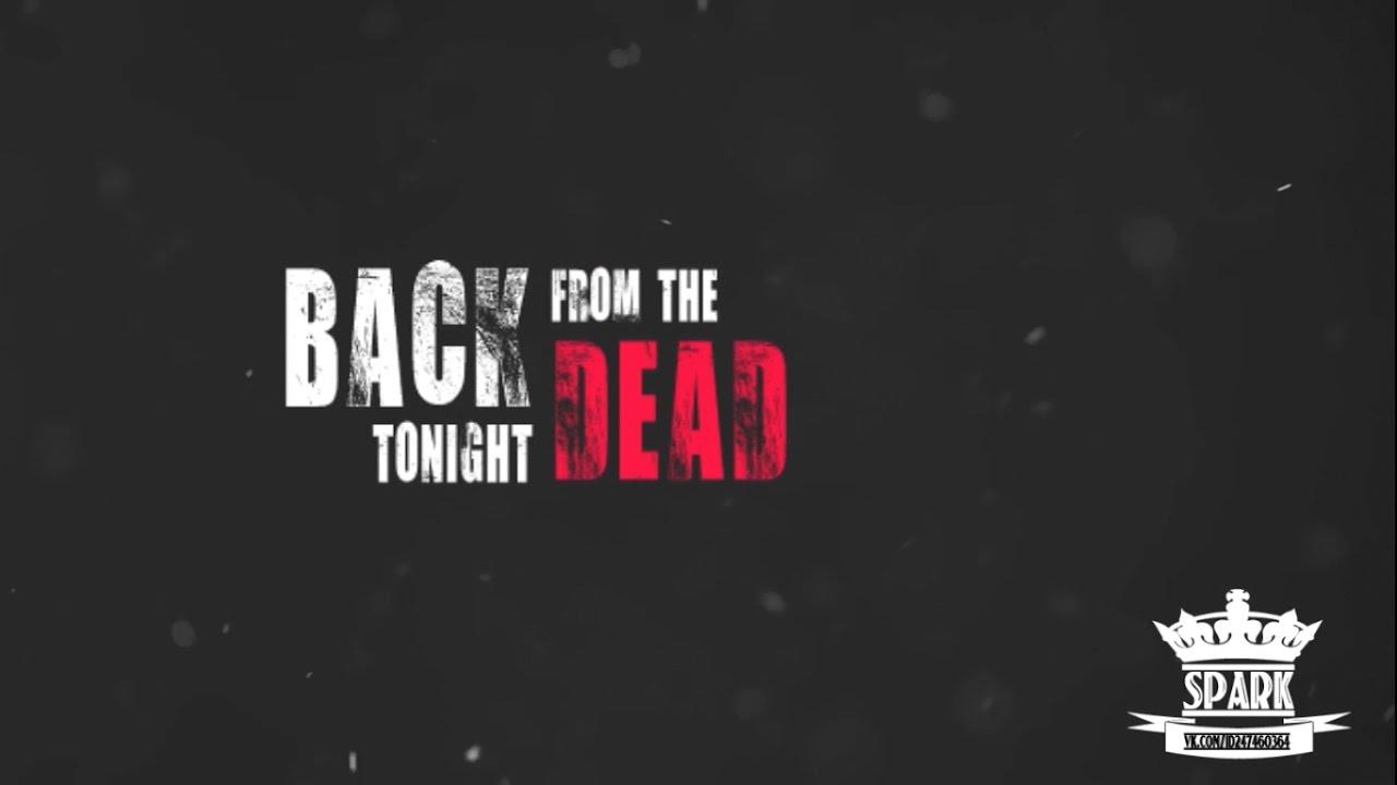 Skillet - Back From The Dead (Lyrics video )