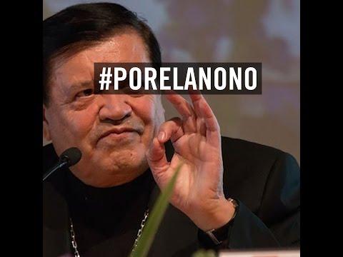 #PorElAnoNo dice Norberto Rivera