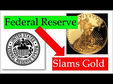 Gold Price Update - Federal Reserve Slams Precious Metals + May 1, 2019