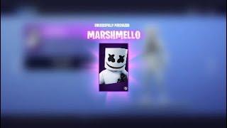 (Fortnite) buying the full MARSHMELLO set!!!