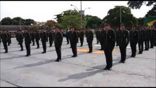 Honras Militares ao Gen Bda Mário Fernandes