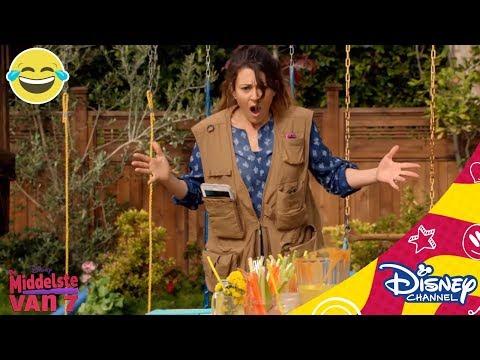 De Middelste van 7 | Technologie-loos | Disney Channel NL