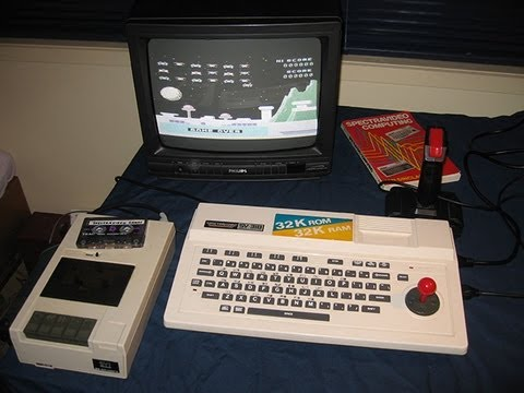 The Spectravideo SV-318: As seen in Tezza's classic computer collection