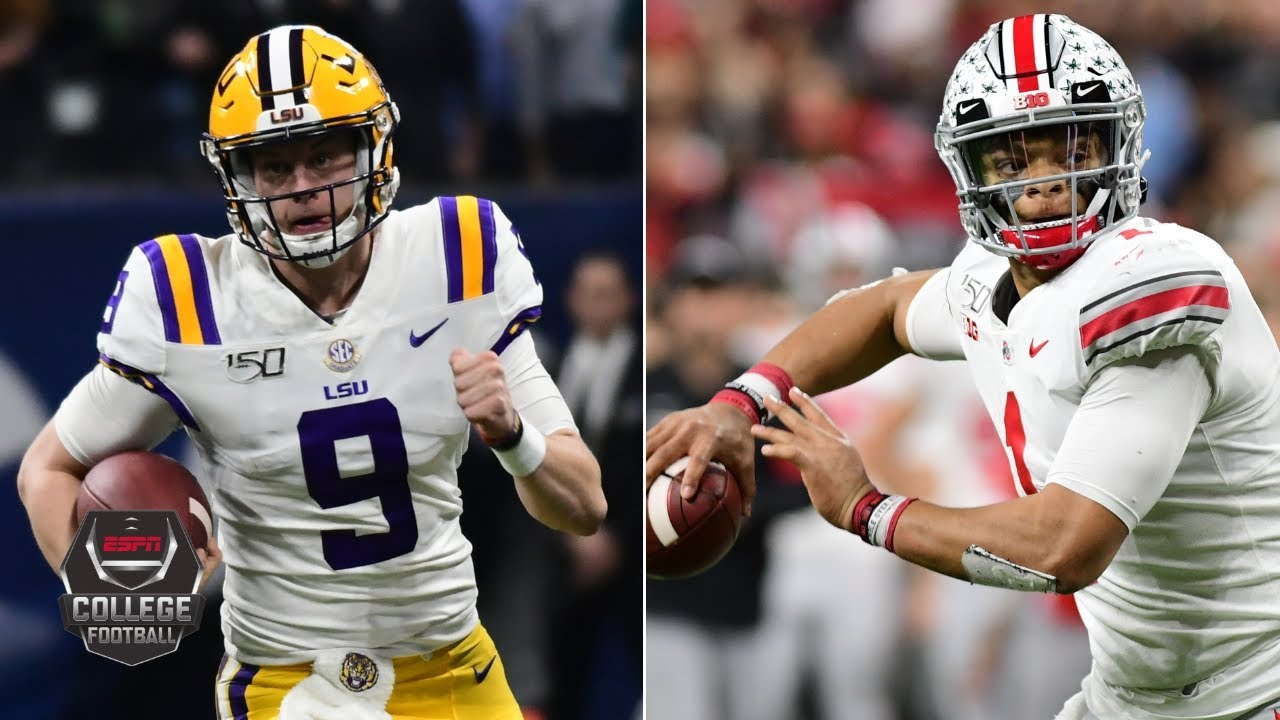 College Football Playoff: LSU, Ohio State, Clemson and Oklahoma ...