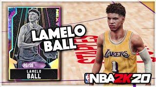 GALAXY OPAL LAMELO BALL!! THE BEST POINT GUARD IN NBA 2K20 MyTEAM!!
