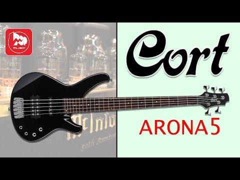 Пятиструнная бас-гитара CORT ARONA-5