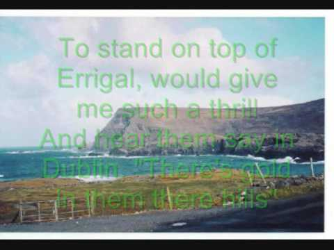 Hills Of Donegal (with lyrics)