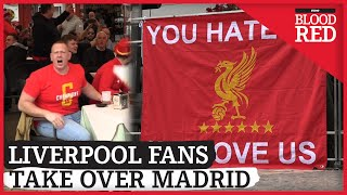 Liverpool Fans Take Over Madrid Ahead of Champions League Clash vs Atletico