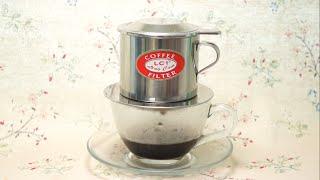 越南滴漏咖啡沖調方法